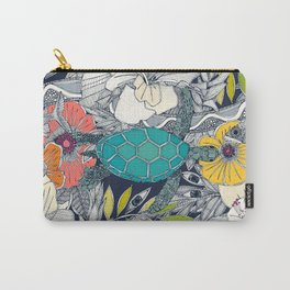 I see Hawaii dark lapis Carry-All Pouch