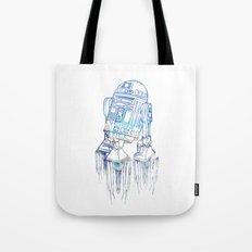 R2D2 Print Tote Bag