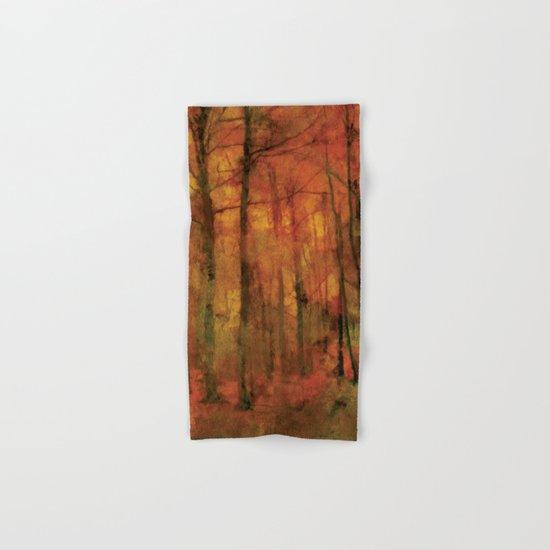 Autumn forest Hand & Bath Towel
