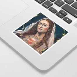 Cor Mariae Immaculatum II Sticker