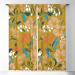 Flowering sweet bloom 02 Blackout Curtain