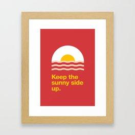 Sunny Side Framed Art Print