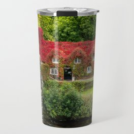 Autumn Cottage Travel Mug