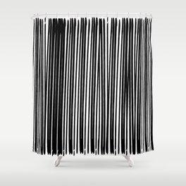 Black Ink | Japanese Atmospheres Shower Curtain