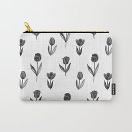 Black tulips Carry-All Pouch