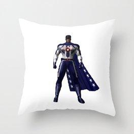 Sgt John Law Throw Pillow