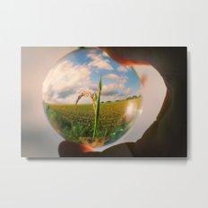 Oculus Grass Metal Print