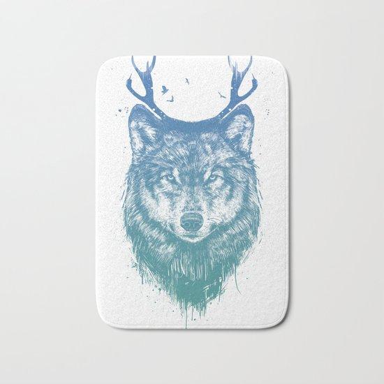 Deer wolf Bath Mat