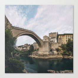 Mostar, Bosnia and Herzegovina Canvas Print
