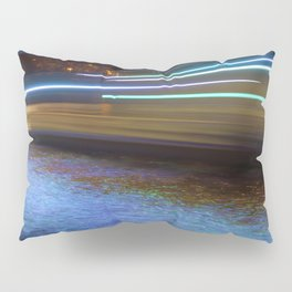 Into the Berlin Blue Night Pillow Sham