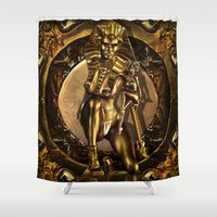 egypt Shower Curtains featuring For Egypt by TK0920