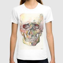 Human Skull Painting T-shirt