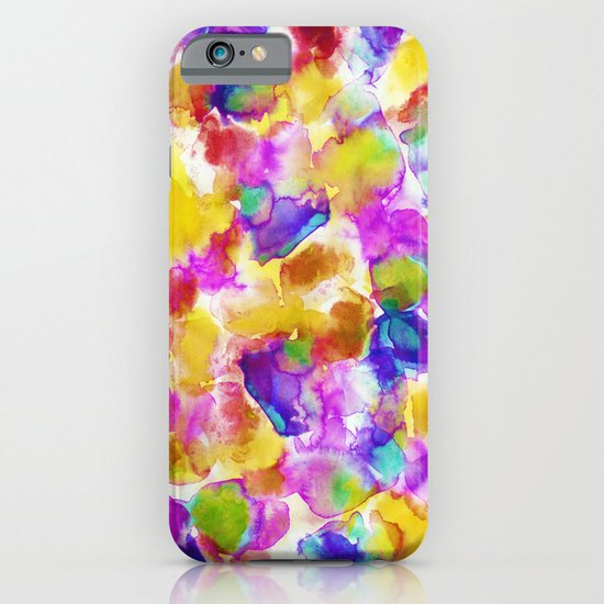 Amaris Yellow iPhone & iPod Case