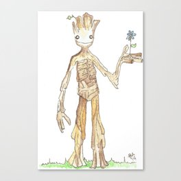 I AM GROOT Canvas Print