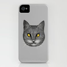 Cross Eyed iPhone (4, 4s) Slim Case