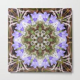 Massive's Flowers Metal Print