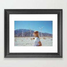 Palm Springs Windmills IX Framed Art Print