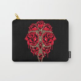 BOUND ROSES Carry-All Pouch