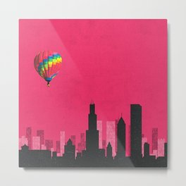 chicago coldplay Metal Print
