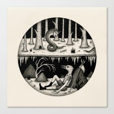 Hide Away Canvas Print