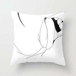 Mouth Throw Pillow