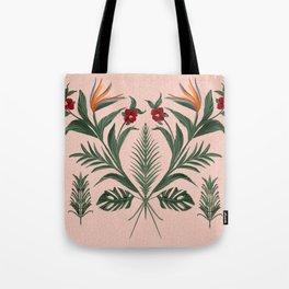 The Pink Tikki Room Tote Bag