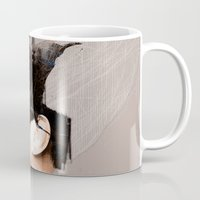 celtic Mugs featuring Morrigan, Celtic goddess by Joe Ganech