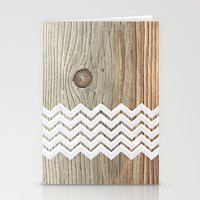 woody Stationery Cards featuring WOODY by Monika Strigel