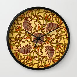 Woodbug Wonderland Wall Clock