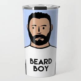 Beard Boy: Charlie Travel Mug