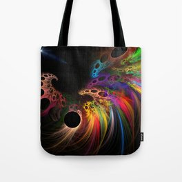 Rainbow rhinoceros Tote Bag
