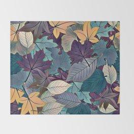 Leafy Goodness Throw Blanket