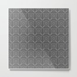 Viking Pattern | Warrior Valknut Norse Mythology Metal Print
