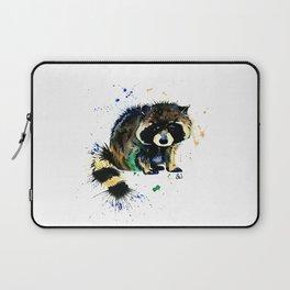 Raccoon - Splat Laptop Sleeve