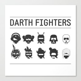 Darth Fighters Canvas Print
