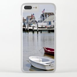 the sunken ship--more vibrant Clear iPhone Case