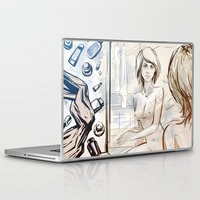 mirror Laptop & iPad Skins featuring mirror by Vilebedeva