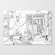 Lisa's forge Canvas Print