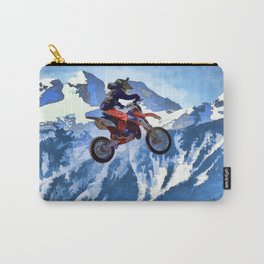 Mountain View-Motocross Rider Carry-All Pouch