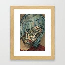 La Señora de Ciudad Juarez Framed Art Print