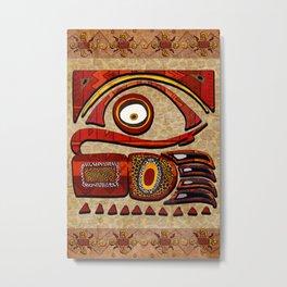 Chu Mtu African Folk Art Metal Print