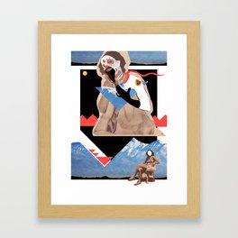mascaraproveta Framed Art Print
