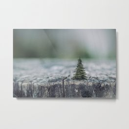 Tree by tree Metal Print