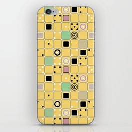 Geometrical abstract pattern 2 iPhone Skin