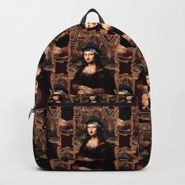 Chicana Mona Lisa Backpack
