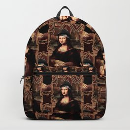 Chicana Mona Lisa Backpack