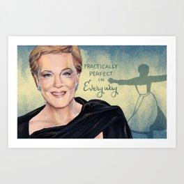 Julie Andrews Art Print
