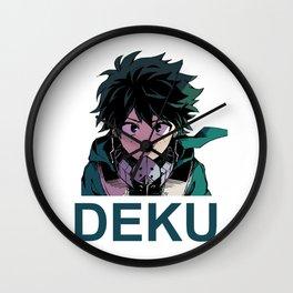Deku Wall Clock