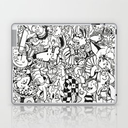 Coloring Page For Literacy Laptop & iPad Skin