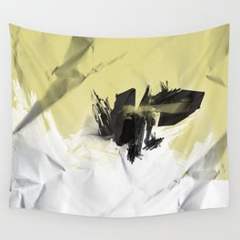 Yellow Symbiote Wall Tapestry